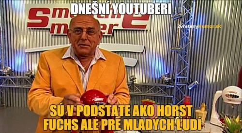 Dnešní youtubeři