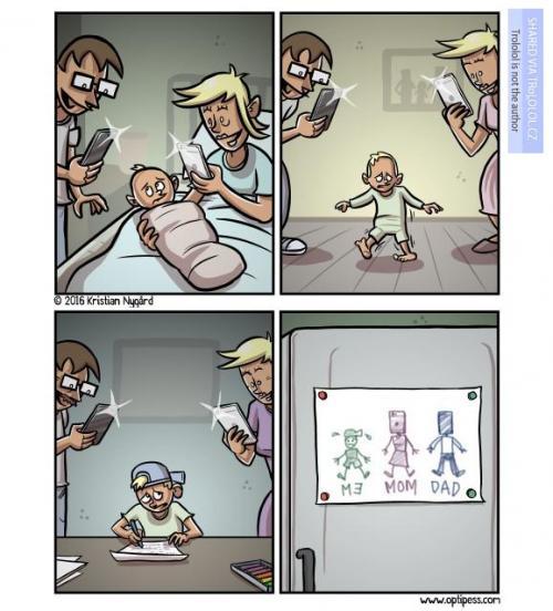 Jak dnes děti vychovávají děti