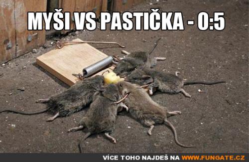 Myši vs Pastička - 0
