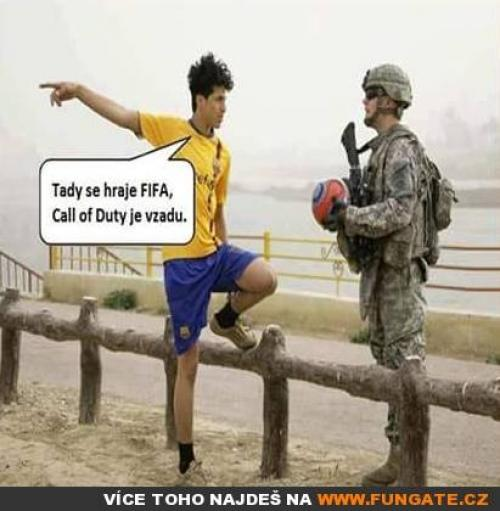 Tady se hraje FIFA,