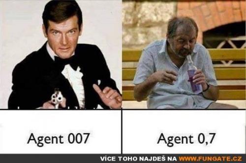 Agent 007 vs