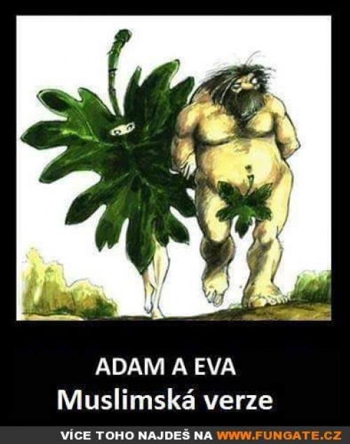 Adam a Eva - muslimská verze