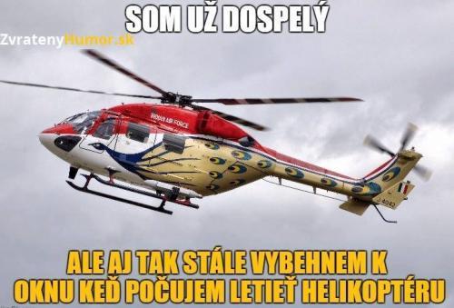 Vrtulník!!!