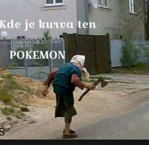 Hledání Pokémonů