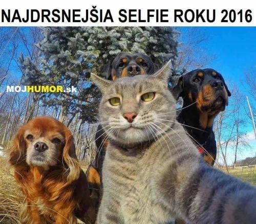Drsná selfie