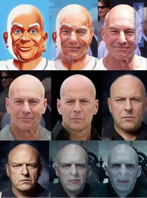 Mr. Clean = Voldemort?