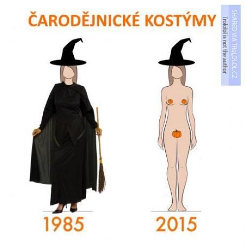 Čarodějnické kostýmy
