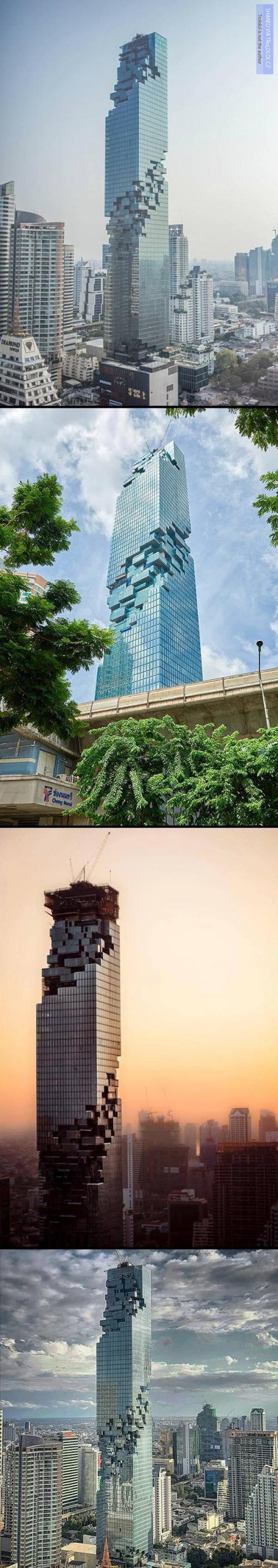 Mrakodrap v Bangkoku