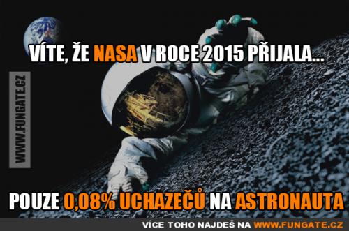Víte, že NASA v roce 2015 přijala