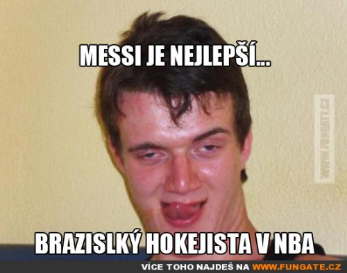 Messi je nejlepší