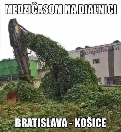 Jak se staví dálnice na Slovensku