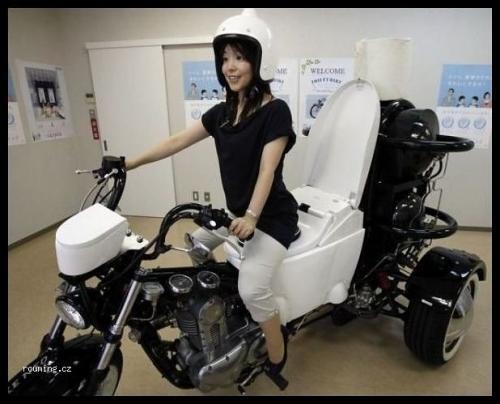 Záchod v motorce