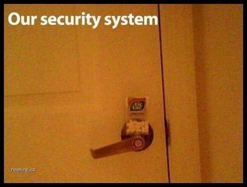 Bezpečnostní systém