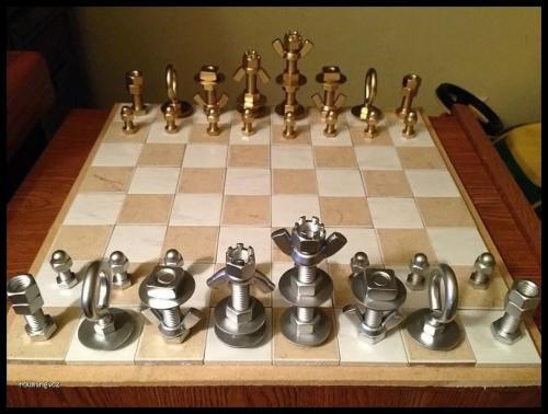 Šachy po domácku