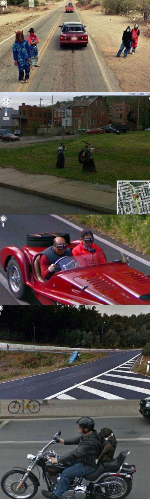 Momentky ze Street view #3