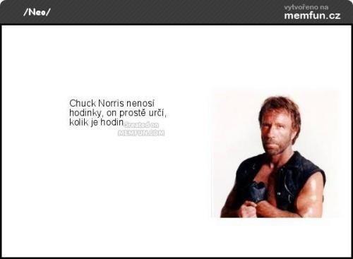 Chuck je prostě frajer!:D