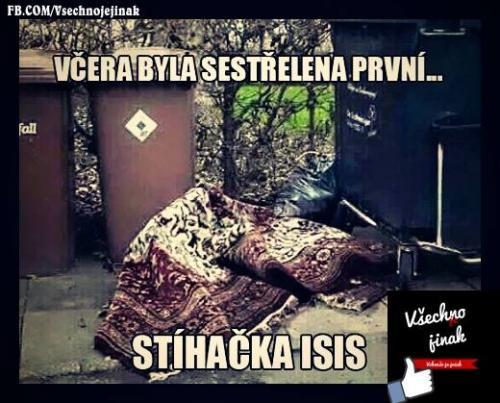 Stíhačka ISIS