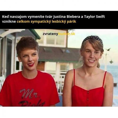 J. Bieber a Taylor Swift
