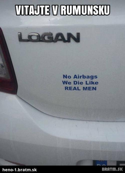 Žádné airbagy