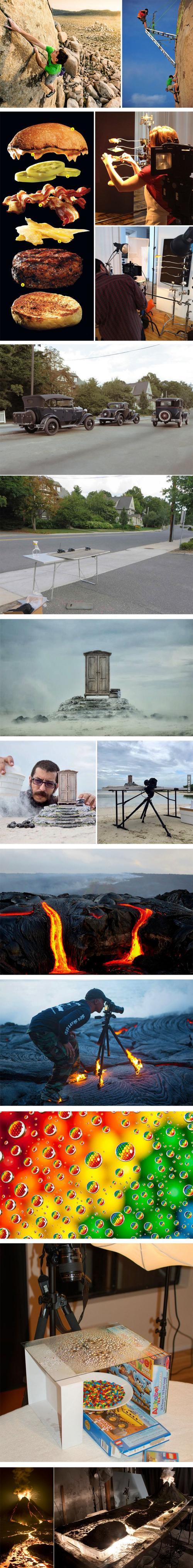 Jak vznikaly těchto 7 fotografií