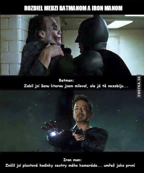 Batman a Iron man