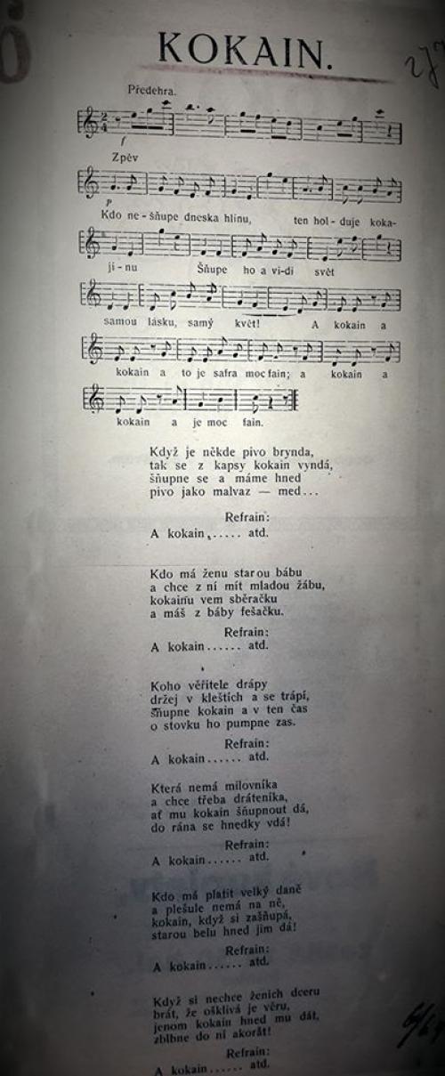 Taková veselá lidová píseň z roku 1924
