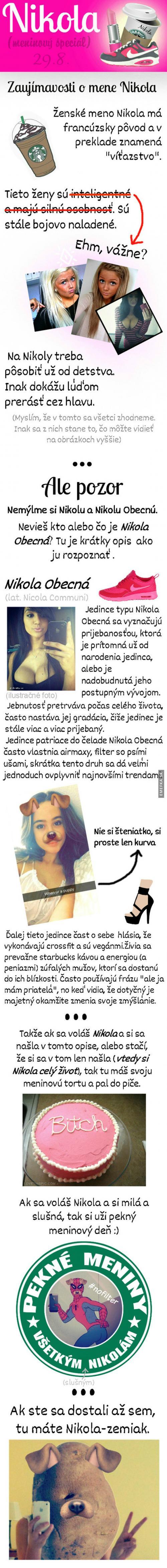 Zajímavosti o jméně Nikola