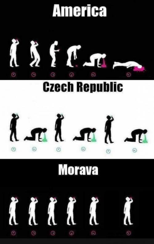 Američani, Češi a Maraváci
