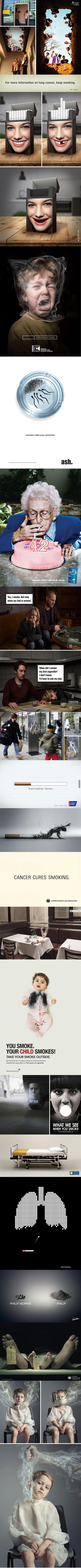 Originální reklamy proti kouření