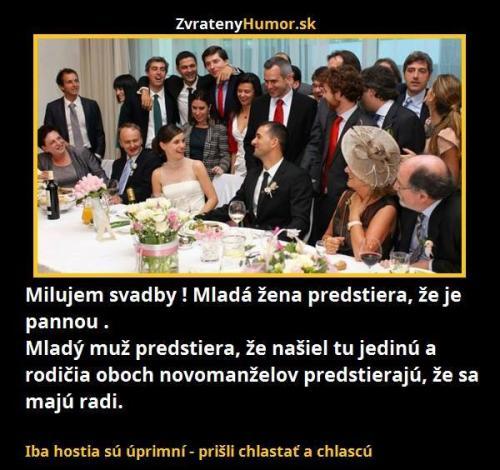 Svatby :D