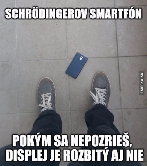 Schrödingerův smartphone