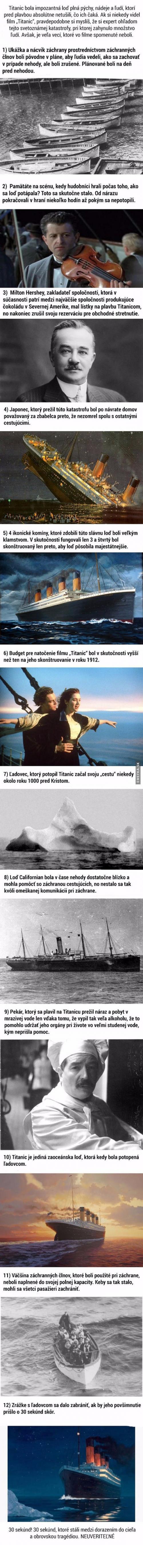 12 faktů o Titanicu