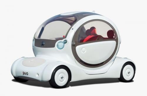 elektromobil Nissan Pivo