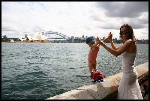 Momentka ze Sydney