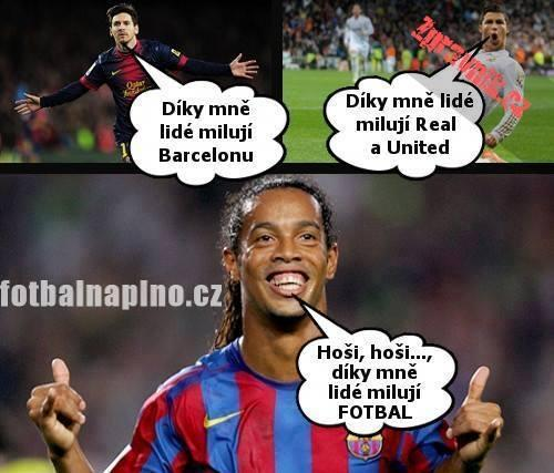 Ronaldinho je borec