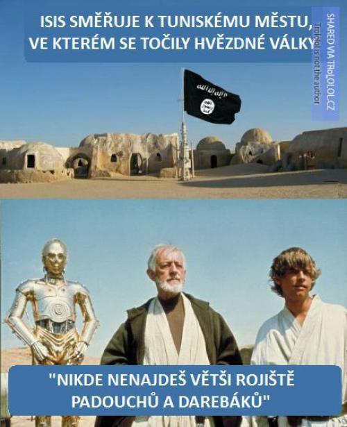 Star Wars a Islámský stát
