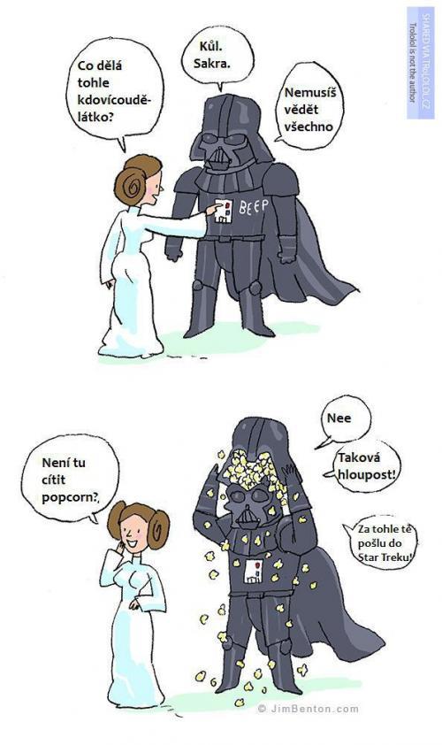 Darth Vader a jeho kůl funkce