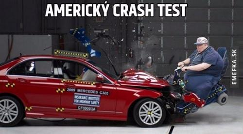Crash test v Americe