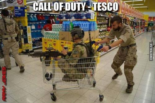 Call of Duty Tesco