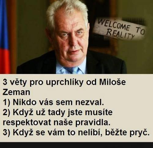 Miloš má pravdu
