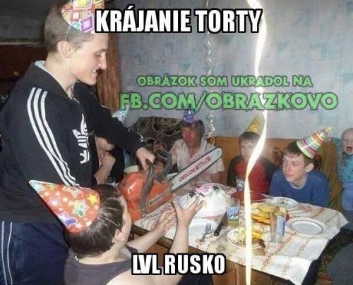 Rusko, jiný kraj :D