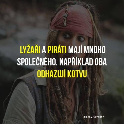 Lyžaři a piráti