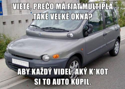 Pravda o Fiat Multipla