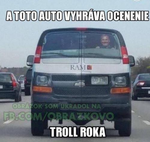 Troll roku