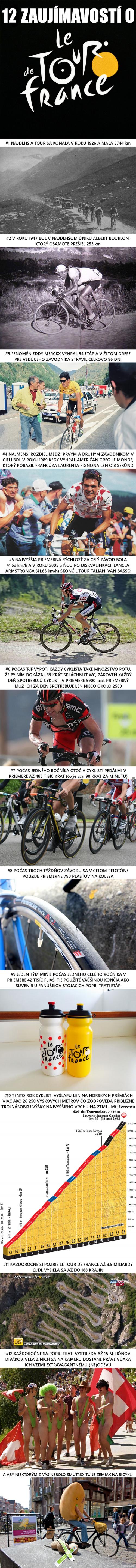 12 zajímavostí o Tour de France