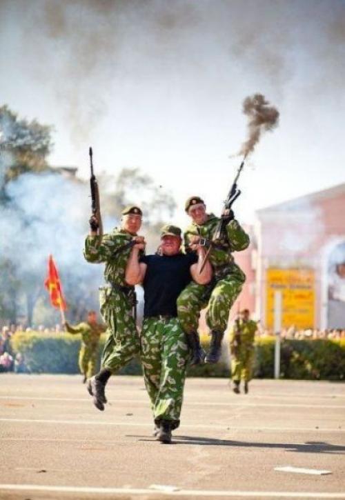 Vojenská zábava