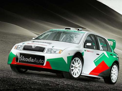 fabia WRC