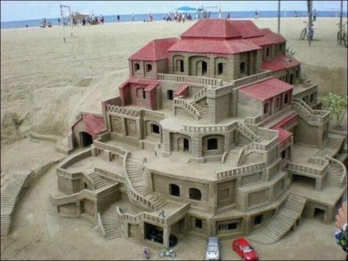 Dům z písku