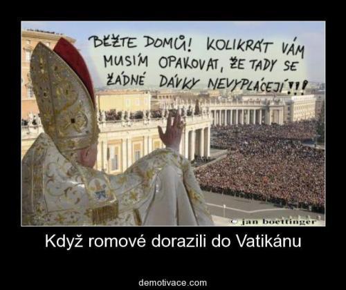 Cigáni ve Vatikánu