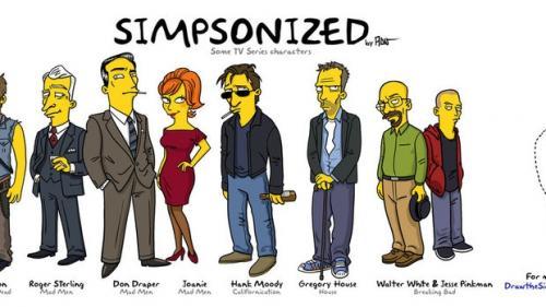 Simpsonovi - Živí mrtví, Perníkový táta, Mad Men, Californication